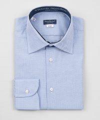 French Collar Shirt Blue Oxford