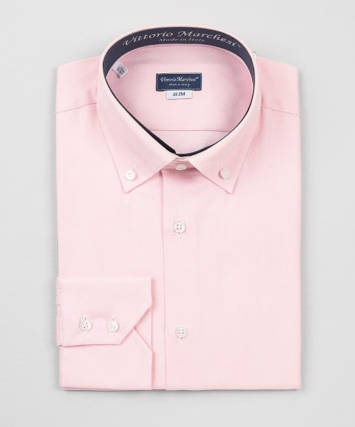 Button Down Shirt Pink Oxford