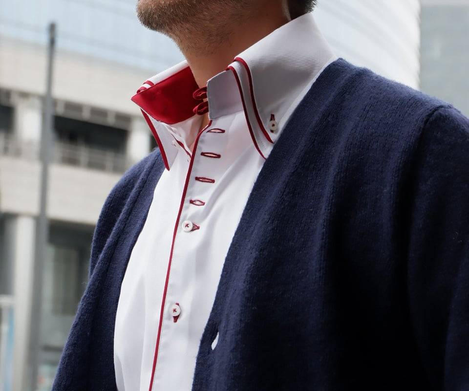 Double Collar Shirts For Men Online